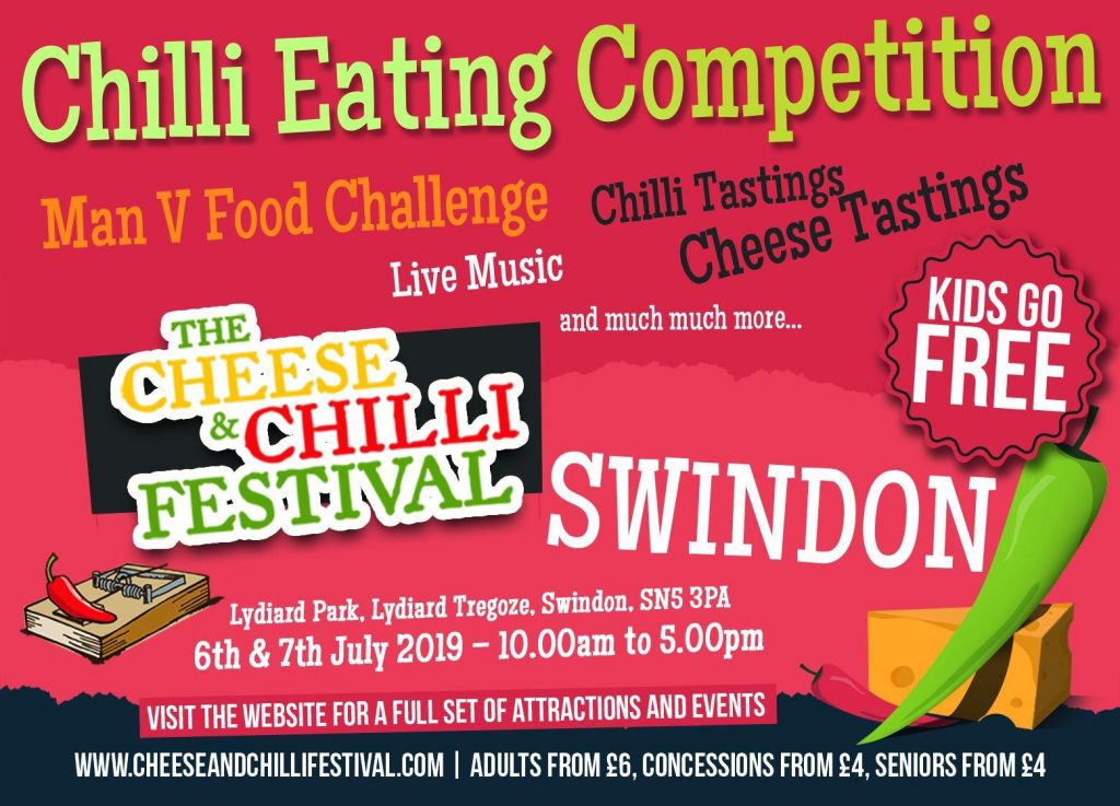 Cheese & Chilli Festival Flyer